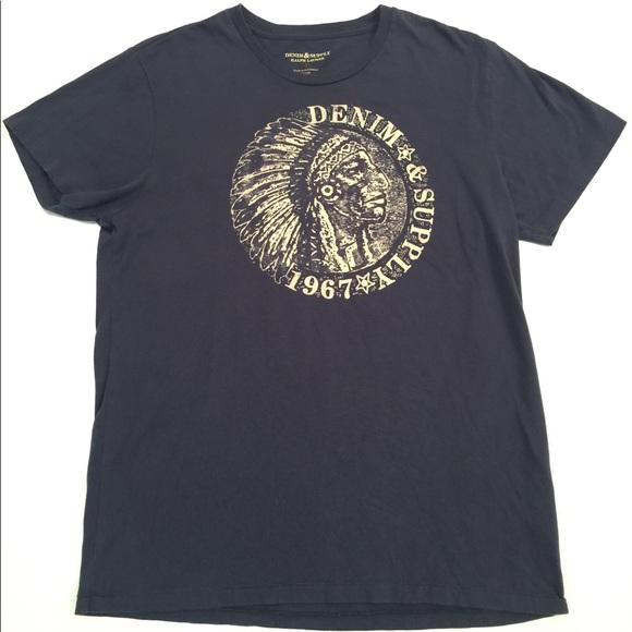 661a137ecbf3 Denim   Supply Ralph Lauren Other - Ralph Lauren Denim   Supply Indian Head T  Shirt