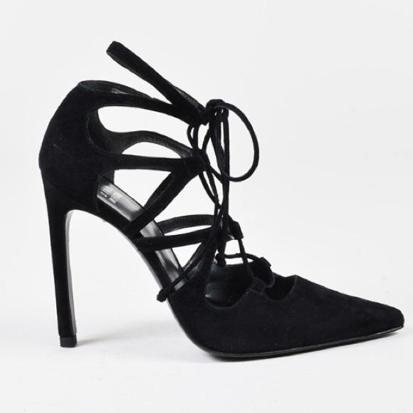 18c8bbac61 Stuart Weitzman Shoes | Excite Black Suede Stiletto Pump 8 | Poshmark