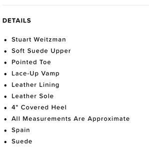 3969233ce2 Stuart Weitzman Shoes - Stuart Weitzman Excite black suede stiletto pump 8