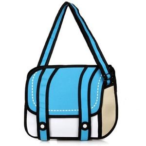 Handbags - 3D messenger purse