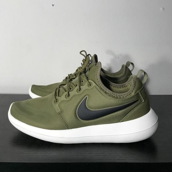 Nike Roshe Two Size 1 Olive Green Black