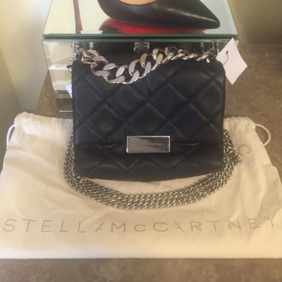 Stella McCartney Handbags - Stella McCartney Soft Beckett quilted shoulder bag