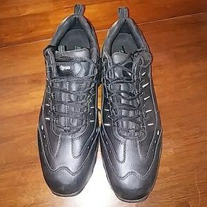 Composite toe work shoes size 15 black