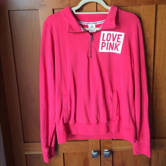 PINK Victoria's Secret - VS PINK quarter zip sweater from Jarod's ...