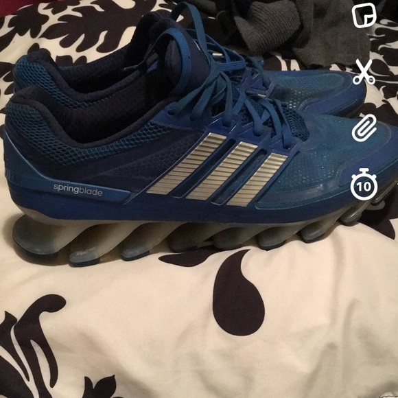 091a9727cdf1 adidas Other - Men s adidas springblade shoes size 13