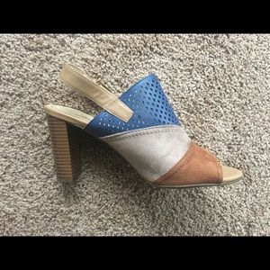 Impo Color Block Sandals