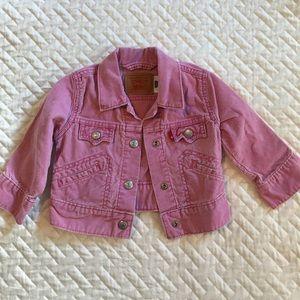 Levi's pink corduroy jacket