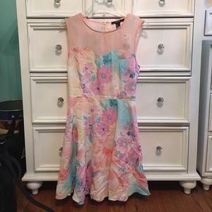 Dresses & Skirts - Pastel floral dress