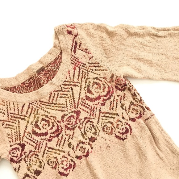Free People Sweaters - Free People Rose Front Sweater