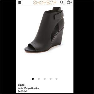 ✨ Vince Black Katia Wedges ✨