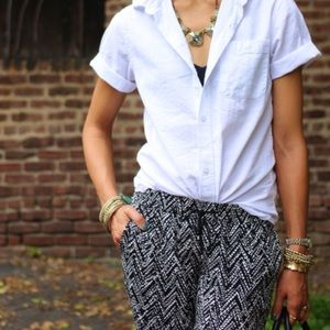 Drapey Tapered Ankle Pants