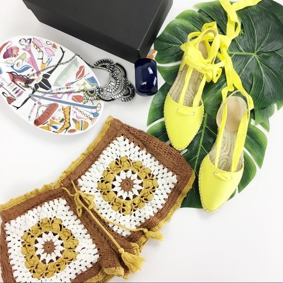 60a864a4 Zara crochet tassel shorts. M_59a5e8758f0fc47baa026df4