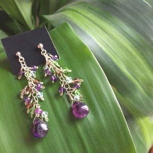 Jewelry - Beaded Drop Earrings