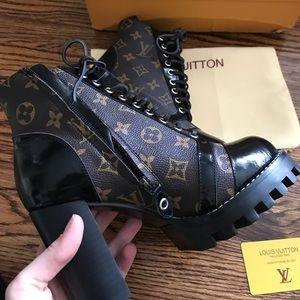 0d570d475a41 Louis Vuitton Shoes - LV star trails ankle boots