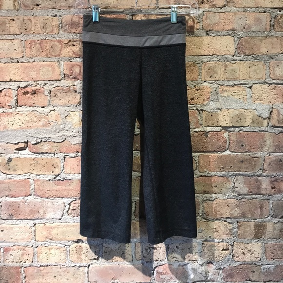 lululemon athletica Pants - Lululemon multi gray cropped pant sz 2