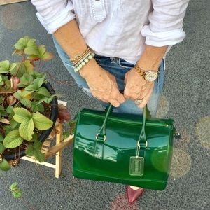 Handbags - Furla Candy Boston bag in green