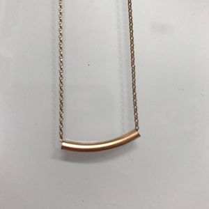 Jewelry - GOLD PLATED BAR NECKLACE!