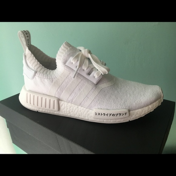 competitive price 28f92 43b4a Nmd R1 Triple White Japan Boost NWT