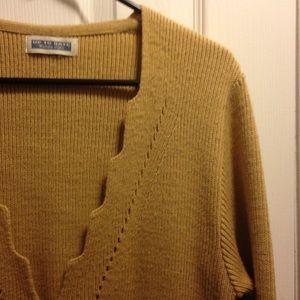 🌟FREE🌟Long Tan Cardigan Sweater