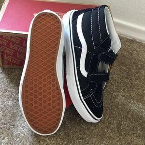 300d7836f10b2d Vans Shoes - Vans Sk8-Mid Reissue Velcro Kids 5.5 Women s 7