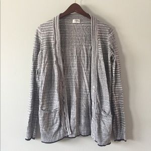 striped wallace (madewell) cardigan size S