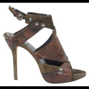 Christian Dior Brown Extreme Gladiator Heel
