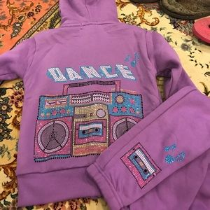 Fleece butter girls set