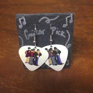 Jewelry - Guitar Pick Earring. Beatles