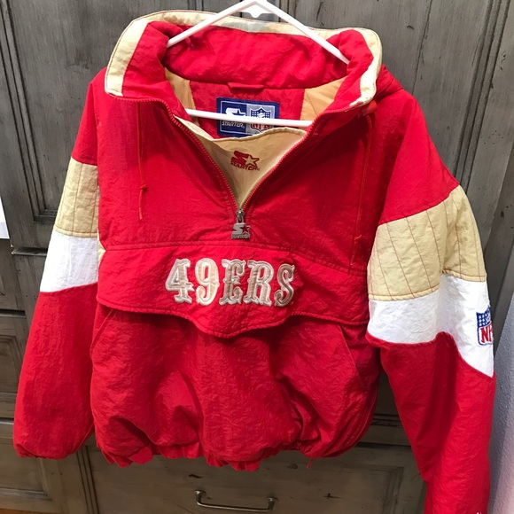 Vintage 49 ers by starter shirt 90s