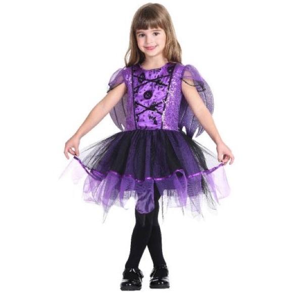 Purple beautiful bat girls Halloween costume 8-10  sc 1 st  Poshmark & Costumes | Purple Beautiful Bat Girls Halloween Costume 810 | Poshmark