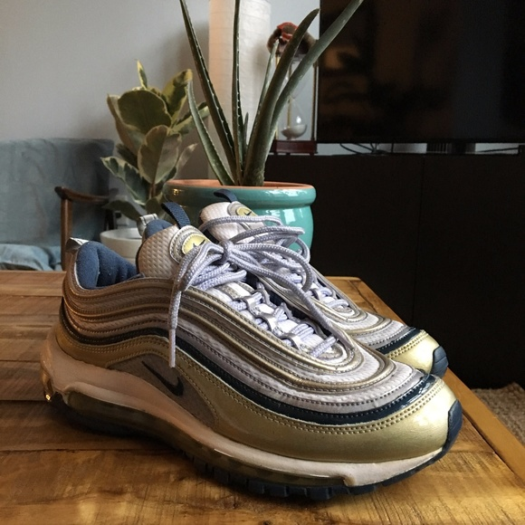 reputable site 0d4d3 3f101 **Nike Air Max 97 ** Lavender and Gold **