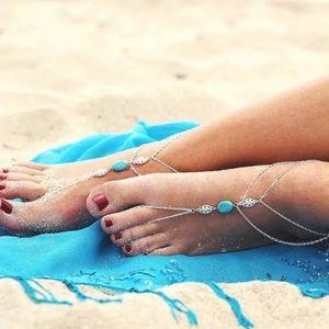 Jewelry - 1 piece barefoot sandal