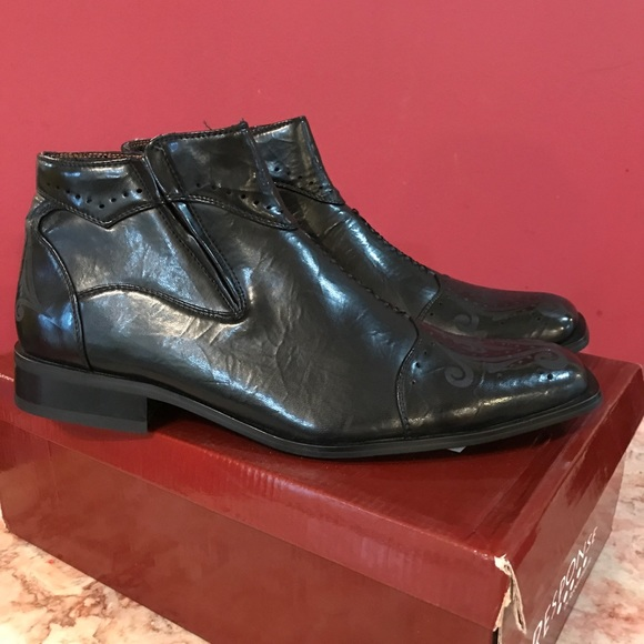Robert Wayne Shoes - Men's leather dress shoes