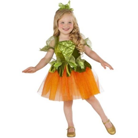 pumpkin princess toddler girl halloween costume