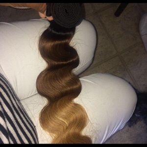 Accessories - 100 percent human hair ombré body