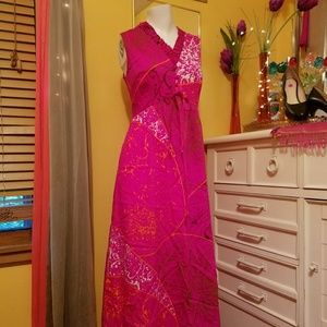 Fuschia Vintage Dress!