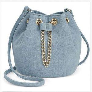 f78dede90a81 INC International Concepts Bags - Inc Pia Mini Bucket Bag Chambray Denim