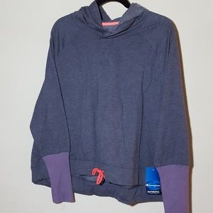 NWT Champion XL Lightweight Cropped Hoodie