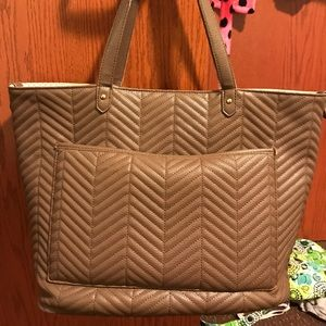 Handbags - Adorable brown tote!
