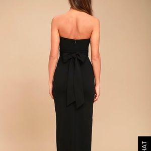 Lulu s Dresses - OWN THE NIGHT BLACK STRAPLESS MAXI DRESS 880aa0237