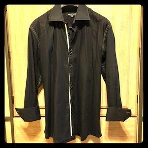 Men's BISCOT MILANO Long Sleeve Button Down Shirt