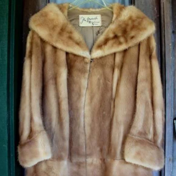 Mink Coat Value >> John Wanamaker Rittenhouse Shops Jackets Coats Vintage Blonde