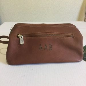 PIEL leather Shave Kit Bag