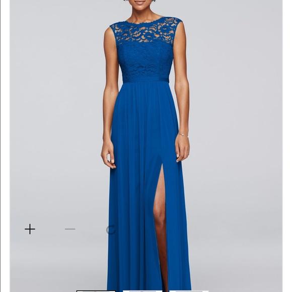 529e34c05b5 David s Bridal Dresses   Skirts - David s Bridal F19328 Horizon ...