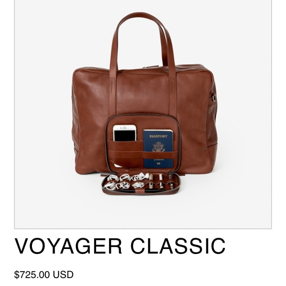 29bc0b2288d4 THIS IS GROUND VOYAGER CLASSIC LEATHER WEEKEND BAG.  M 59a61c4c5a49d083ae03639a