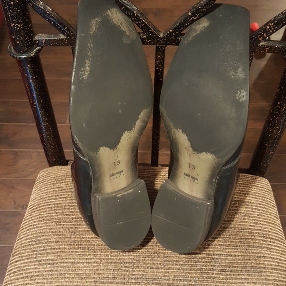 Robert Wayne Shoes - Robert Wayne Black/Terracotta Distressed Loafers