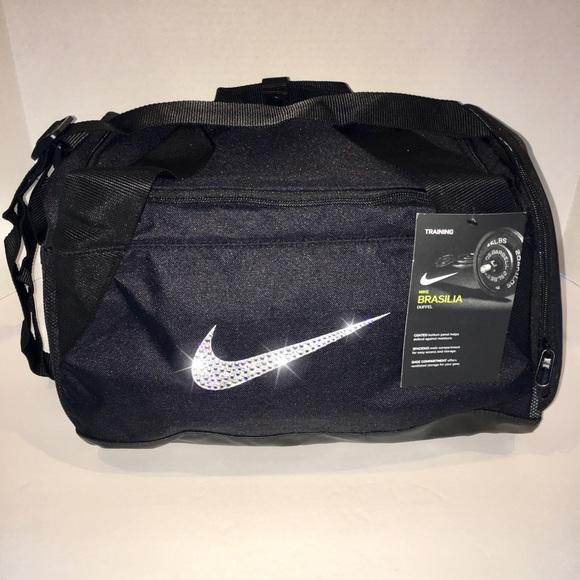1dfba4704d Nike Bags   Swarovski Bling Brasilia Duffel Gym Bag Cute   Poshmark