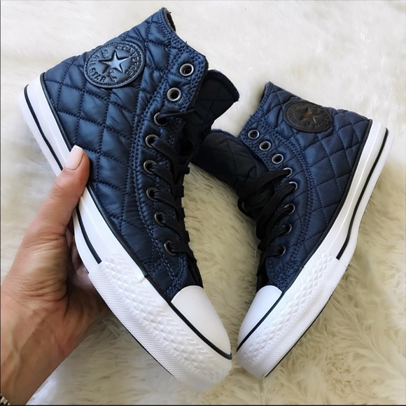 ad93a460aed8 NWB 💙 CONVERSE CHUCK TAYLOR ALLSTAR QUILTED NYLON