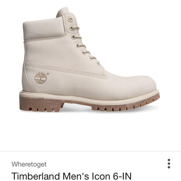 Timberland cream men size 9 *MAKE AN OFFER*