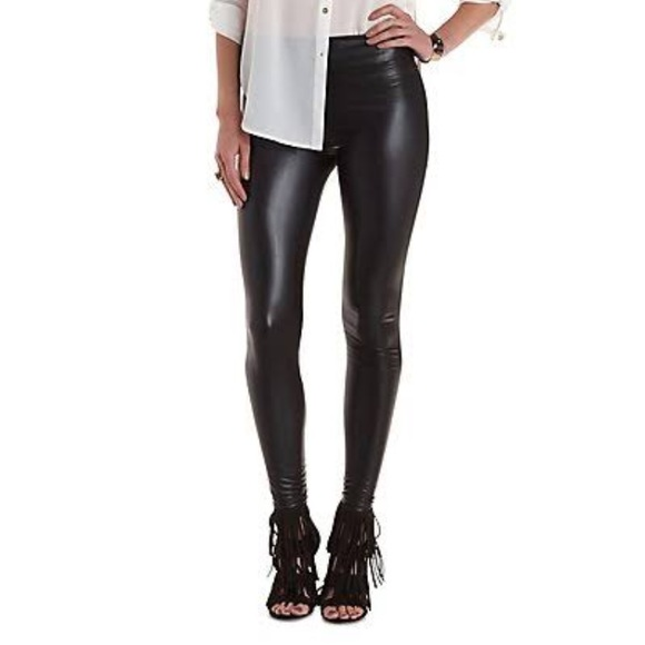 beautiful in colour best quality for uk availability NWT Black High Waisted Liquid Leggings NWT